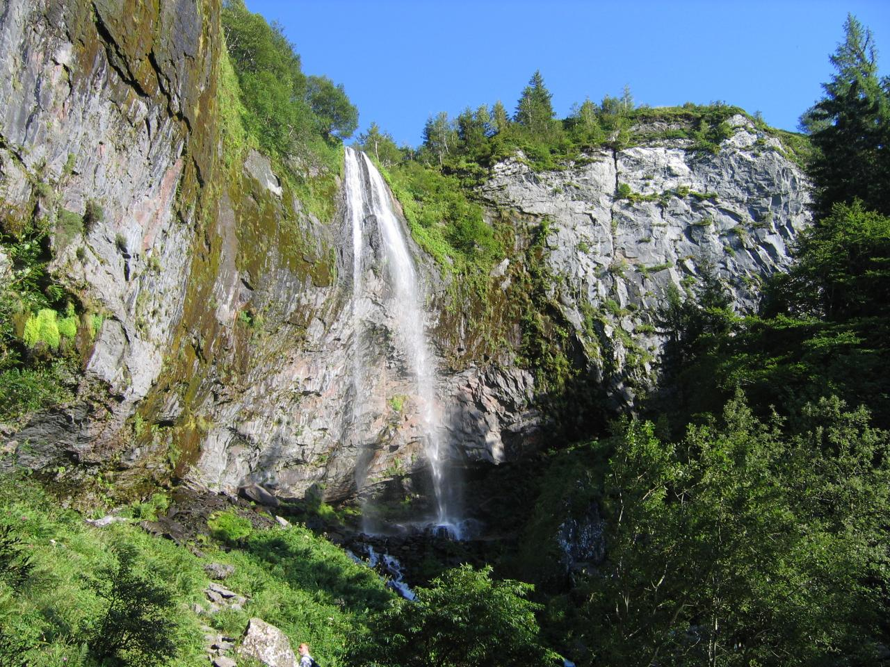 Image result for Grande Cascade du Mont Dore waterfalls