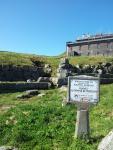 Op de top van de Puy de Dôme