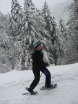 Sneeuwschoenwandelplezier