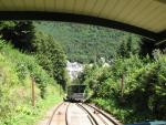 The funicular railway of Le Mont-Dore
