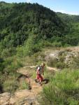 Auf dem Weg zur Tour de la Pinière