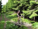 Klimmen naar de Col de la Croix Morand