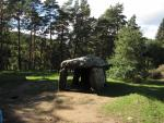 Dolmen close to Saint Nectaire