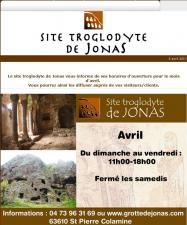 Grottes de Jonas april 2017