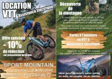 10% discount on e-mountain bike rental
